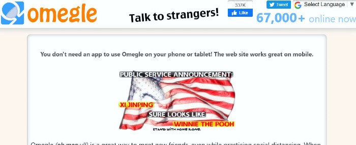 Omegle www Ome TV